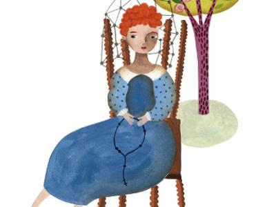 Imagen que representa una niña (ilustración de Valeria Cis).