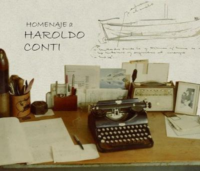 Imagen que representa la muestra: Como un león, vida y obra de Haroldo Conti