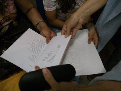 Lecturas Compartidas en el Hospital Carrasco